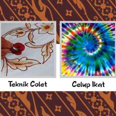 Teknik Dalam Pembuatan Batik