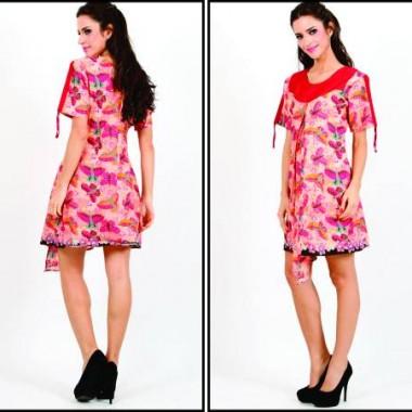 4 Model Dress Batik Sesuai Bentuk Tubuh
