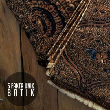 5 FAKTA UNIK BATIK_