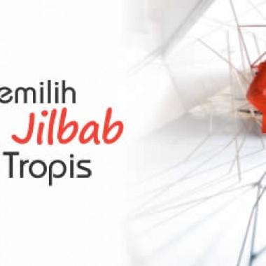 TIPS MEMILIH SETELAN JILBAB DI IKLIM TROPIS